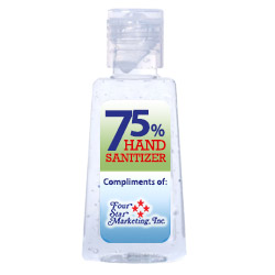 1 Oz. Hand Sanitizer for Personal Safety - Imprinted