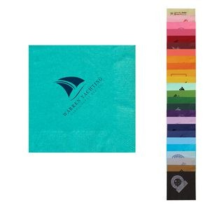 "Pick-A-Color Beverage Napkin 5""x5"""