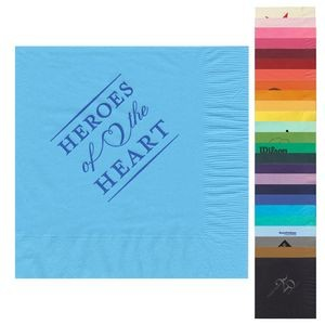 "Pick-A-Color Beverage Napkin 6.5""x6.5"""