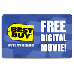 1 Digital Movie Rental