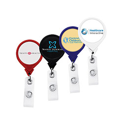 Anti-Microbial Jumbo Round Badge Reel