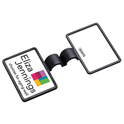 Anti-Microbial Rectangle Stethoscope ID Tag