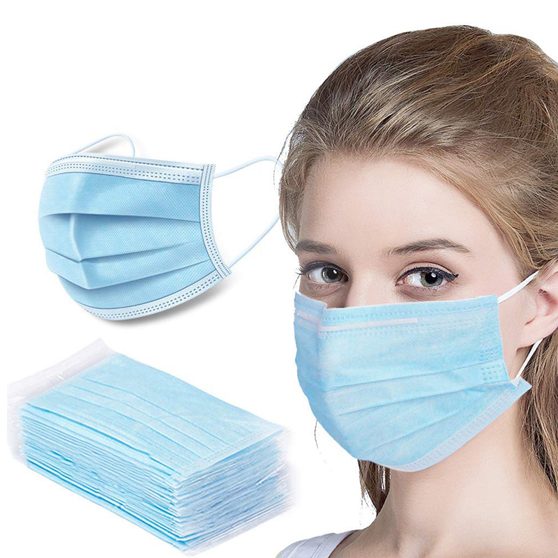 Disposable Face Mask for Everyday Personal Use: 8-11 Day Delivery