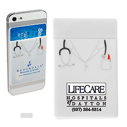 Doctor Silicone Cell Phone Pocket