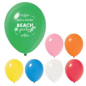 "9"" Standard Balloon - Made of Natural Latex Rubber   