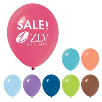 "9"" Fashion Balloon - Made of Natural Latex Rubber   