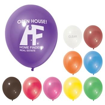 "11"" Sheer Balloon - Made of Natural Latex Rubber   