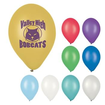 "11"" Metallic Balloon - Made of Natural Latex Rubber   