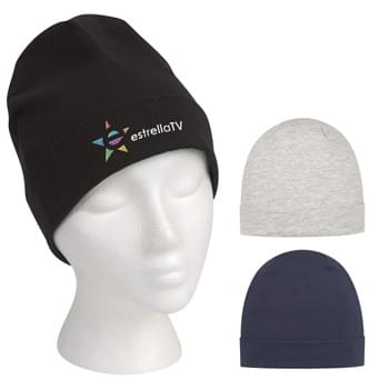 Beanie Skull Cap - 83% Cotton/11% Polyester/6% Spandex | One Size Fits All | Comes In 3 Great Colors!