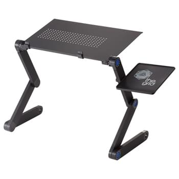 Raised Desk - CLOSEOUT! Please call to confirm inventory available prior to placing your order!<br />The Raised Desk is ideal for anyone interested in a healthy lifestyle or even being a couch potato while trying to get work done.   With multiple positions you can sit or stand and find your ideal position.