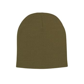 Knit Beanie Cap - 100% Acrylic | One Size Fits All | Comes In 9 Great Colors!