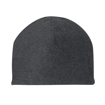 Double Layer Fleece Beanie - 100% Polyester Fleece | One Size Fits All | One Side Anti-Pilling
