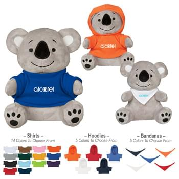 "6"" Koko Koala - 14 Popular Shirt Colors 