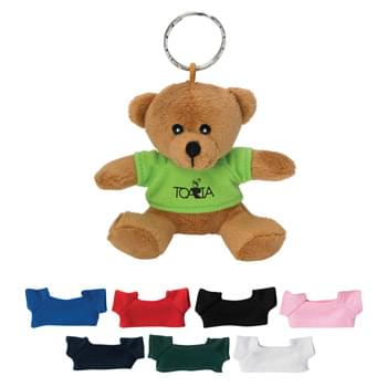 "Mini Bear Key Chain - Keep Cuteness At Your Fingertips With This 3 ½"" Teddy Bear Key Chain! 