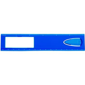 "6"" Magnifier Ruler With Bookmark - Measures Up To 6"" Or 15 cm"