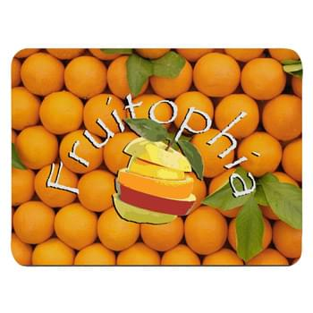 "Full Color Rectangle Mouse Pad - Made Of 1/8"" Rubber 