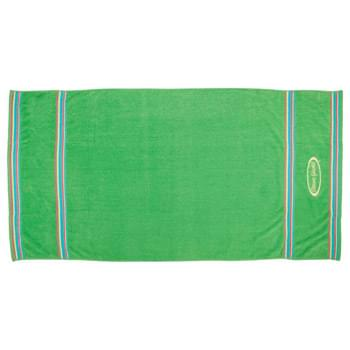 12lb./doz. South Beach Beach Towel - 12lb./doz.,velour, hemmed, 100% cotton midweight beach towel.