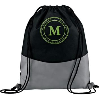 PolyPro Non-Woven Cinch - Large main compartment with cinch top. Drawstring design for over-the-shoulder or backpack carry. Eco woven label to promote reusability as this is a perfect alternative to plastic bags.