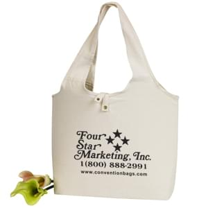 Eco Friendly Canvas Roll Tote Bags