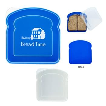Sandwich Container - Meets FDA Requirements | BPA Free | Hand Wash Recommended