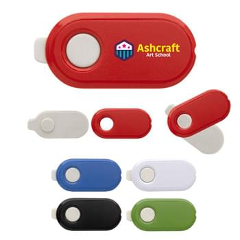 Swivel Eraser - CLOSEOUT! Please call to confirm inventory available prior to placing your order!<br />Protective Swivel Case | Swivel Out To Use