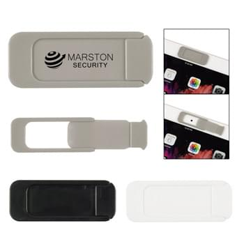 Security Webcam Cover - Place Over Webcam To Provide Privacy As Well As Protection For Camera Lens | Slide To Open/Close | Adheres To Device With Strong Adhesive | Attaches To Most Computers, Laptops, Smart TV's or Monitors