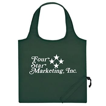 "Foldaway Tote - Made Of 210D Polyester | 18"" Handles 