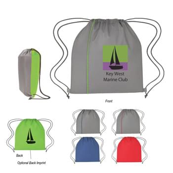 Reversible Sports Pack - Made Of 210D Polyester | Front/Back Reversible | Drawstring Closure | Spot Clean/Air Dry
