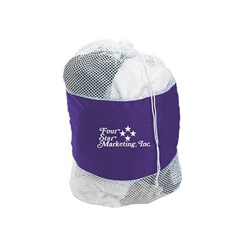 Mesh Laundry Bag - Made Of 210D Polyester With Soft Nylon Mesh Body | Drawstring Closure | Spot Clean/Air Dry