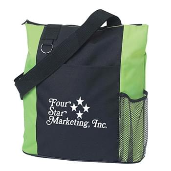 "Fun Tote Bag - Made Of 600D Polyester | 26"" Web Handles 