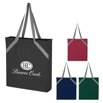 "Bagley Tote Bag - Made Of 600D Polyurethane | 3 "" Gusset 