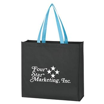 "Non-Woven Tote Bag - 5"" Gusset 