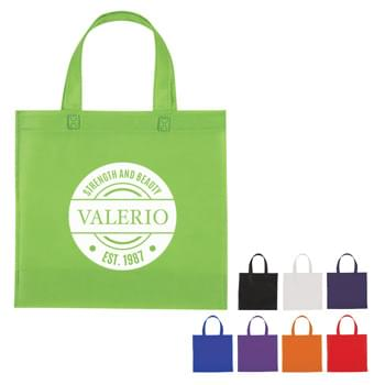 "Non-Woven Mini Brochure Tote Bag - Made Of 80 Gram Non-Woven, Coated Water-Resistant Polypropylene | 12 "" Handles 
