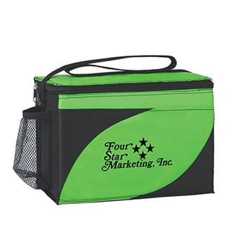 "Access Kooler Bag - Made Of 210D Polyester | PEVA Lining | Insulated To Keep In The Cold | Zippered Closure | Front Two-Tone Pocket | Side Mesh Pocket | 28"" Strap 
