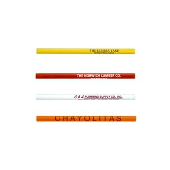 "Jumbo Untipped Pencil - Round Barrel Features An Oversized Design   | Medium Soft Bonded Core  | Extra Large 13/32"" Diameter"