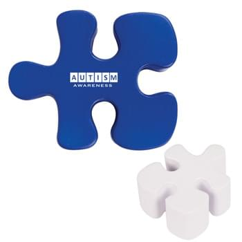 Puzzle Piece Shape Stress Reliever - CLOSEOUT! Please call to confirm inventory available prior to placing your order!<br />
