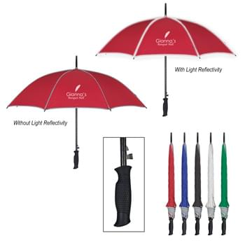 "46"" Arc Reflective Umbrella - Automatic Open 