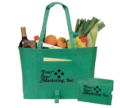 Recyclable Foldable Tote Bags