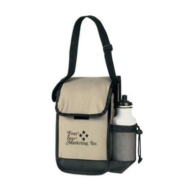 Convenient Lunch Bags with Beverage Holder