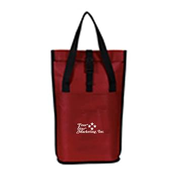Roll Over Insulated Cooler Wine Tote