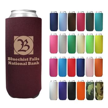 "24 Oz. Tall Boy Coolie - 1/8"" High Density Foam 