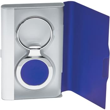 2 In 1 Key Tag/Business Card Holder - --
