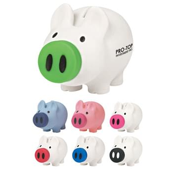 Payday Piggy Bank - Removable Nose For Coin Retrieval