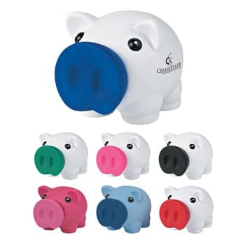 Mini Prosperous Piggy Bank - Removable Nose For Coin Retrieval