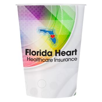 12 Oz. Tyndall Cup - Polypropylene Material   | Vibrant Full Color Graphics   | Made In The USA | Meets FDA Requirements  | BPA Free | EQP Does Not Apply
