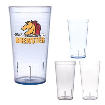 16 Oz. Tyndall Tumbler - Polypropylene Material   | Vibrant Full Color Graphics   | Available in Smooth or Textured Finish (Must Specify on PO)  | Made In The USA   | Meets FDA Requirements | BPA Free | EQP Does Not Apply