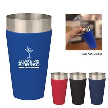 28 Oz. Findlay Shaker Cup - Stainless Steel With Silicone Sleeve | Meets FDA Requirements | BPA Free | Hand Wash Recommended