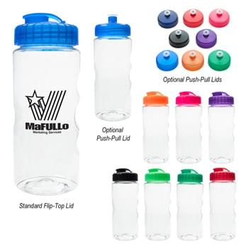 22 Oz. Wilderness Sports Bottle - Made With PET Material | Screw On, Spill-Resistant Flip-Top Lid | Meets FDA Requirements | BPA Free | Hand Wash Recommended