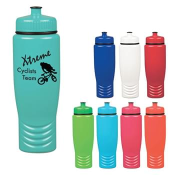 28 Oz. Madeira Bottle - PET Material   | Leak-Resistant Push Pull Lid   | Proposition 65 Compliant   | Made In The USA   | Meets FDA Requirements   | BPA Free  | Hand Wash Recommended