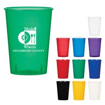12 Oz. Flex Cup - Made Of Polypropylene   | Sturdy And Reusable   | Made In The USA  | Proposition 65 Compliant  | Meets FDA Requirements  | BPA Free   | Hand Wash Recommended